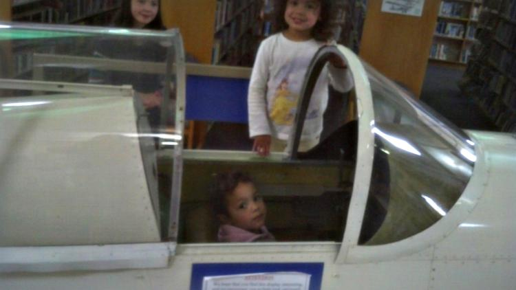 Even the little ones wanted to get into the act!