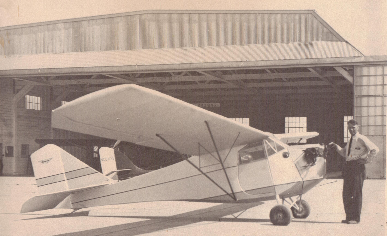 Whiffle Hen and hangar