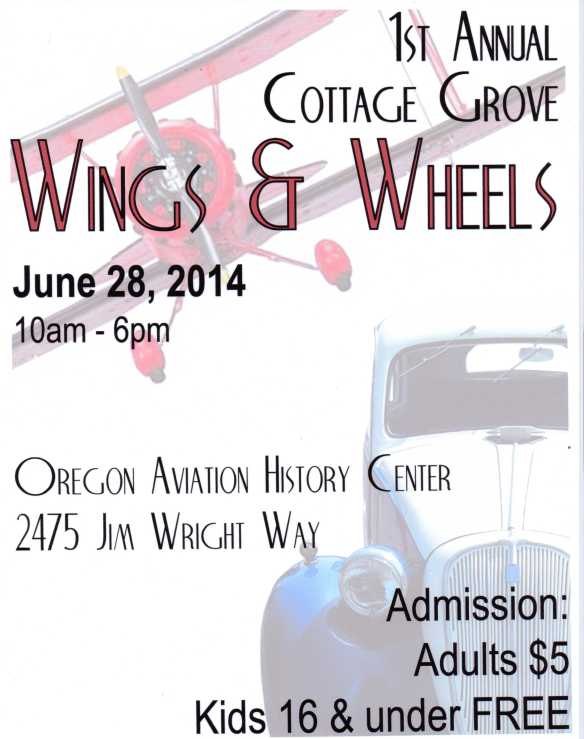 Wings & Wheels, June 28, 2014